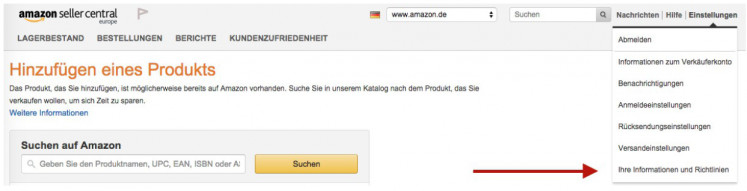 Amazon Einbindung 1
