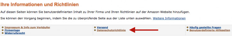 Amazon Einbindung 7
