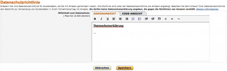 Amazon Einbindung 8